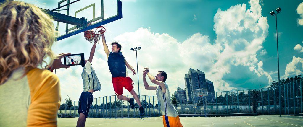 Oglas za SIOL TV - košarka